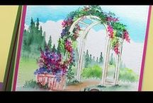 """Wonderful Water Color """"how to"""" Videos"""