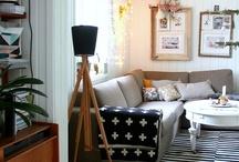 Salones / Sitting rooms / Espacios dónde priman las líneas puras