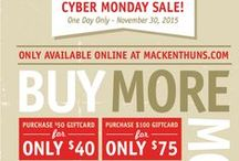 Weekly Ads & Special Promotions / Mackenthun's Fine Foods sales flyers and special promotions.  Includes great savings on your groceries, specialty foods, homemade meats, made from scratch baked goods, homemade deli items, fresh and local produce, and much more! / by MackenthunsFineFoods