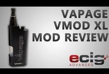 VMOD & VMOD XL / VMOD and VMOD XL from Vapage.com / by Vapage