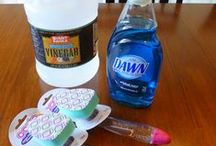 Cleaning Tips / by Carol Rhoden
