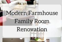 family Room / family room arrangements and decor including televisions