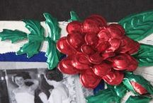 glueFOIL / Projects using glueFOIL, an adhesive backed foil product for crafting and glass