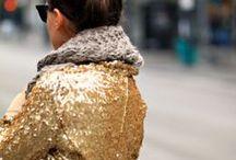Zalando ✷ Métallique  / Lamées, irisées, scintillantes, cet hiver, les silhouettes font rimer métallique et chic.