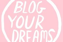 Blog Inspiration / From posing to photographing to posting.