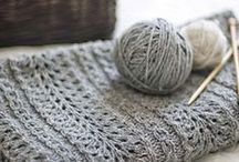 And Needles / Knitting (and crochet) isn't just for grandmas and football players.