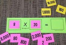 School: Multiplication & Division / by Nicole Davis