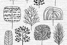 LINE DRAWING. / Reference | Tutorials. / by Paola Gutiérrez Mejía