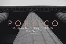 PORTICO | Architecture Journal / Articles for Aspiring Architects and Architecture Students on PORTICO JOURNAL. Drawing Basics for Architects, Architectural Concepts, Technical and Construction knowledge, Design processes and methods, and Professional Practice.
