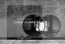 ARCHITECT | Carlo Scarpa / Architect Carlo Scarpa is famous for his detail, rich material use and beautiful drawings. Find out more about Carlo Scarpa in Portico Journal http://portico.space/journal//architects-carlo-scarpa