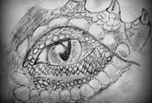 My Dragon Drawings
