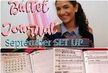 Bullet Journal Inspo / Ejemplos e ideas para mi Bullet Journal, tips y consejos  #BulletJournal #Planner #BulletJournalenEspañol #BuJo #BulletJournalJunkie
