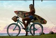 I ♥ my cruiser bike! / For the love of bicycles and the joy they bring! :)