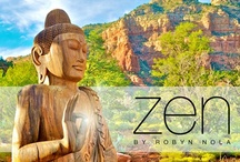 Zen / Breathe in the beauty of the present moment.