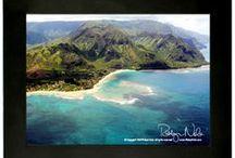 Hawaii / Fine Art Night Lights of The Hawaiian Islands by Robyn Nola. ♥