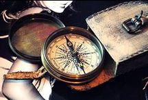 Compass&Ships wheel / by Ritsuko