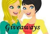 Giveaways to Enter / by A Savings WOW!