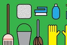 Cleaning Home Tips / by Sherri Peddicord
