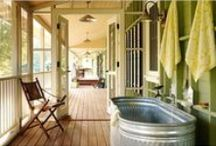 Cottage Bathroom / Home decor ideas to create your favorite cottage style in the bathroom.