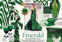 2013 PANTONE Color of the Year: Emerald Green