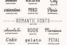 -Printables & Fonts-