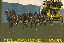 Yellowstone-Vintage Posters, postcards,reproductions