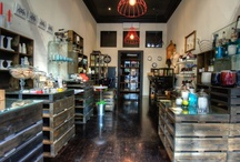 For Setting Up Shop / Great ideas for displays and organization of my shop space.