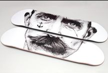 Skate- & Snowboards / Skateboards, snowboards & other cool board designs. / by From up North