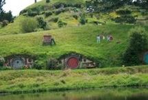 Hobbit houses / Most of them aren't but they're still nice to look at :)