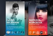 App Designs / Mixed app designs for desktop, mobile and tablet devices.