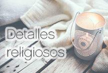 Detalles religiosos / Detalles con motivos religiosos, para compartir la fé. http://bit.ly/1SJCLmj