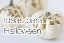 Ideas para Halloween / Te traemos grandes ideas para que tu #Halloween sea como ninguno. #Curiosities