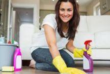 Organização: Dicas e Limpeza da Casa / Que tal um planejamento para manter sua casa limpa e organizada? Este painel está recheado de ideias.