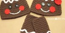 Crochet--4-Holidays / Christmas, Easter, Valentines, Halloween, etc...Crochet Projects