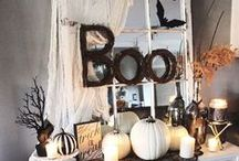 Haunted Home / Halloween Decor from spooky sweet to ghoulishly scary!
