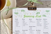 Organization / Live simply and stay organized...at least on paper.  / by Brooke Cooney