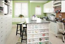 Craft Rooms / by DOstamping With Dawn