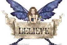 Fairies-Fantasy-Angels / by Debbie & Chet Sobieski
