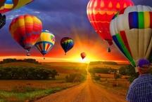 Hot Air Balloons / by Debbie & Chet Sobieski