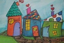 Houses / whimsical house shapes, fun houses, art houses