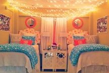 Dorm Life / Decorating your dorm, how to organize it, and what to bring to college. / by Tiffany Leiva