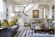 Living Room Ideas / by Matt and Shari