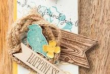 Choose Happiness / Stampin' Up! Choose Happiness stamp set ideas