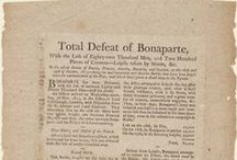 Napoleon Bonaparte / Historical newspapers from the Newseum collection that discuss Napoleon Bonaparte  / by NewseumED