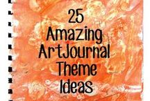 Art Journal Prompts / Ideas to get me started with my art journal