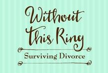 Without This Ring: Surviving Divorce / A guide through the dark post-divorce maze to God's peace at the other end, Without This Ring: Surviving Divorce is a roadmap to healing. It offers practical suggestions, resources for help, Bible verses to study, and journaling prompts. While acknowledging the discouragement that can accompany divorce, this book gives readers the boundless encouragement and hope found in Christ alone.