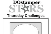 Thursday Challenges / Get inspired with the DOstamperSTARS Weekly Challenges!  We use these challenges to create and share projects made with Stampin' Up! products.