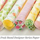 Fruit Stand Designer Series Paper / Ideas for using Stampin' Up! Fruit Stand Designer Series Paper
