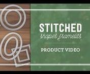 Stitched From the Heart / Selected stamp sets at 25% off, Plus the early released Stitched Shaped Framelits