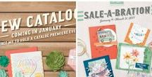 2017 Occasions & SAB Catalogs / Projects made with Stampin' Up! 2017 Occasions Catalog and Sale-a-Bration Brochure